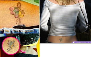 Britney Spears fairy Tattoos Design