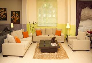 Living Room Fresh Interior
