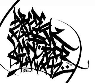 Graffiti Mosaic Alphabet