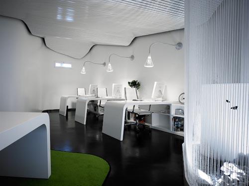 fashion designing fresh modern office interior design