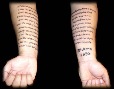 The Hottest Tattoo Quotes, Ideas, & Word Designs For 2011