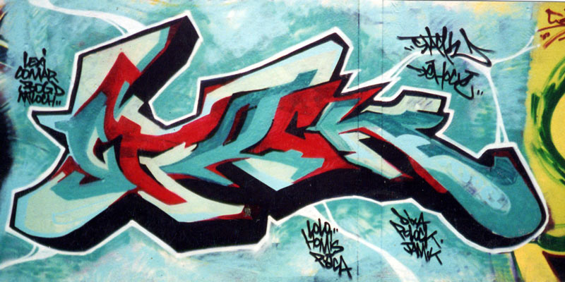 graffiti walls: Amazing Graffiti Names Alex Design