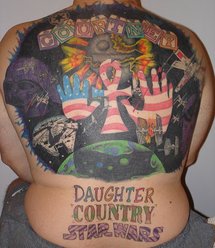 This is a worst tattoos for girls and man. All people may be don't like with