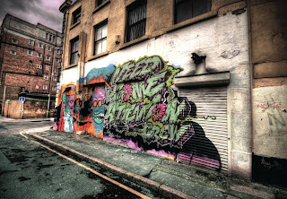 Classical Street Graffiti