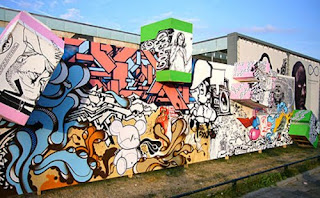 Full color Street Graffiti