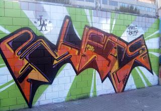 Graffiti Alphabet Buble Style