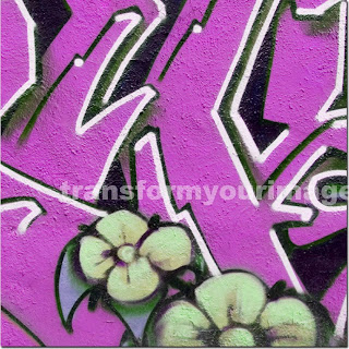 graffiti Flowers design