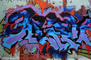 Graffiti Vannessa Letters Wall Street