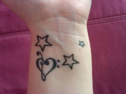 star tattoos design ideas
