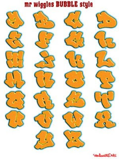 graffiti alphabet design ideas