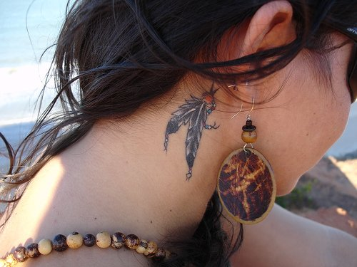 "Tattoo Star Art: Tattoos On Neck "" Tattoo For Girls Ideas """