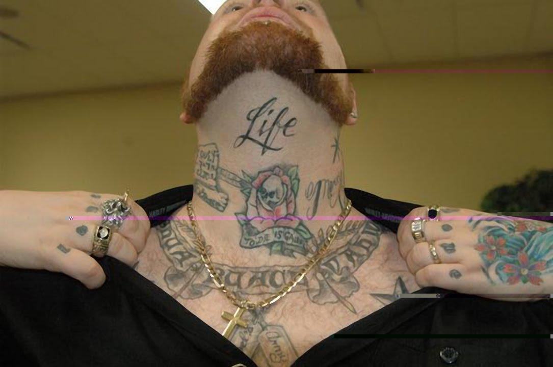 One Thing To Avoid With Any Tattoo Designs On The Front Of The Neck