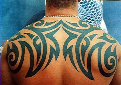 Tatto modern tribal tattoos for men on arm tattoo ideas for Tribal tattoos on back for guys