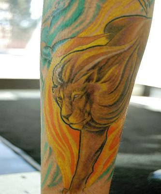 Leo Tattoo, zodic tattoo