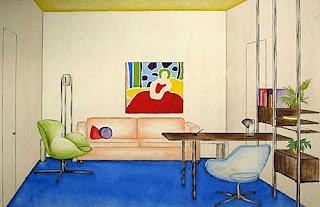 interior design ideas drawing sketches