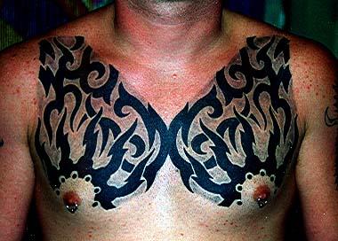 Best Men Chest Tattoos