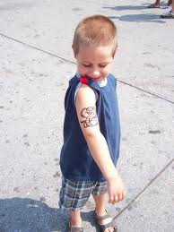 temporary tattoos design ideas for kids