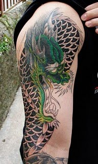 dragon tattoos on arm design ideas