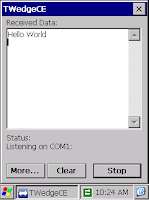 Windows CE Software Wedge