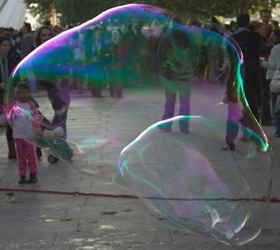 Largest Soap Bubble World's Largest Soap Bubble