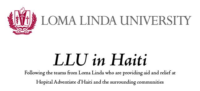 LLU in Haiti