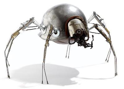 robots, spider robot, spiderman robot, great robot, robot milenium
