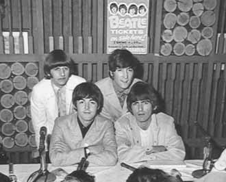 Beatles  Us Tour Poster Memphis