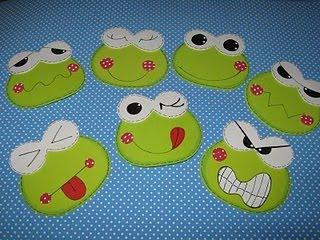 Kurbagalar kurbaga suratları ile duygular