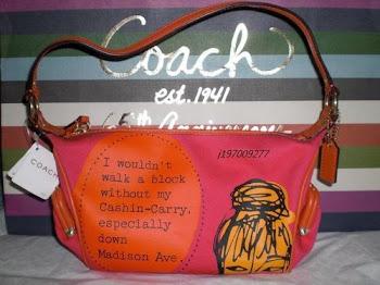 Coach Bonnie Print Top Handle Pouch 42583