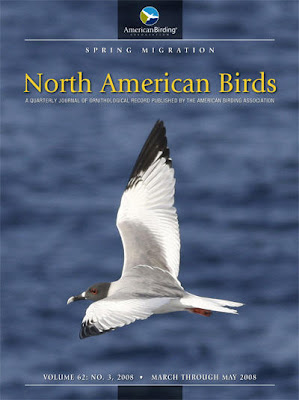 North American Birds - Spring 2008 Cover