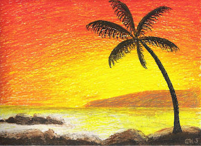 Art From Kat Paradise Sunset