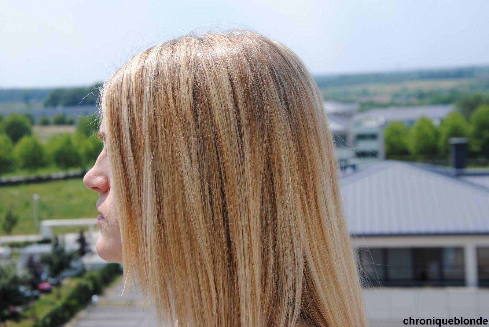 raviver des meches blondes