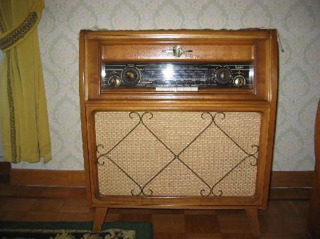 ancien meuble radio
