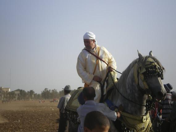 mon père pendant la fantasia été 2008