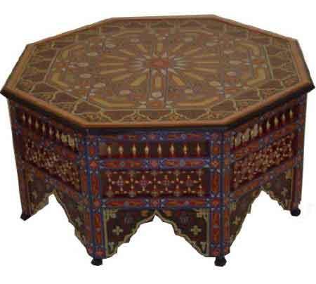 table-bois-maroc