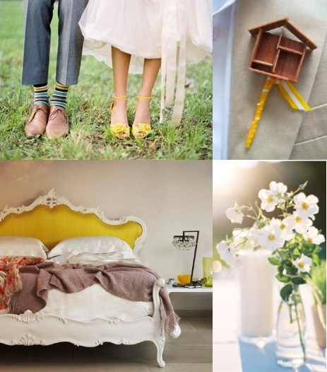 Wedding Inspiration Yellow Grey photo credits jose villa