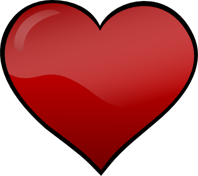 free heart clipart images. heart clip art free black and