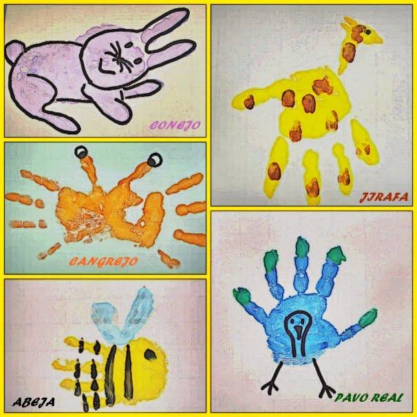 SunSun on animales , dactilopintura , manualidades , pintura de dedos