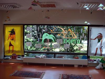 Actividad 1 decoraci n egipcia en clase egipto for Decoracion egipcia
