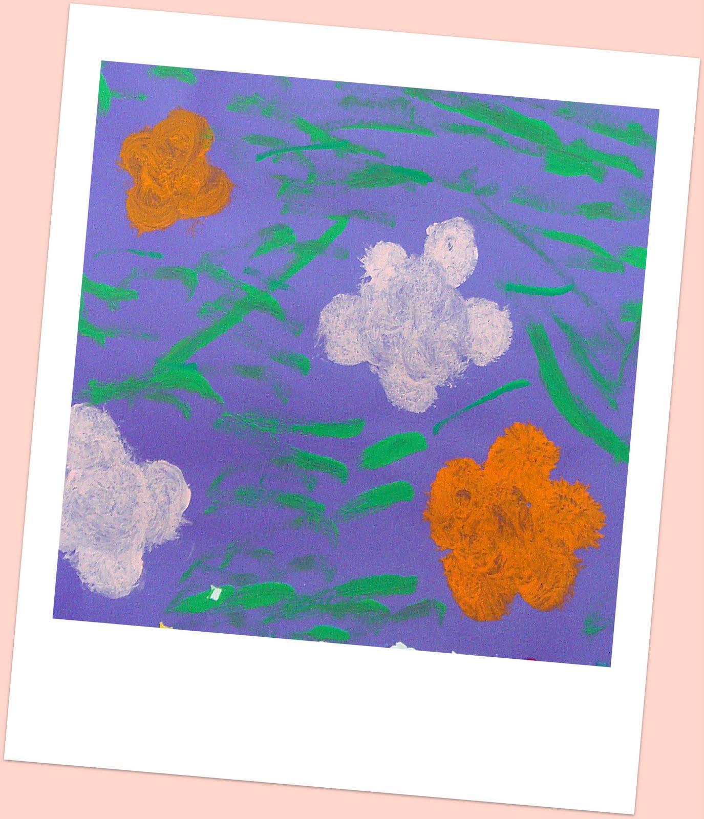Telas Flores Pinturas Fraldas Rupestres Genuardis Portal