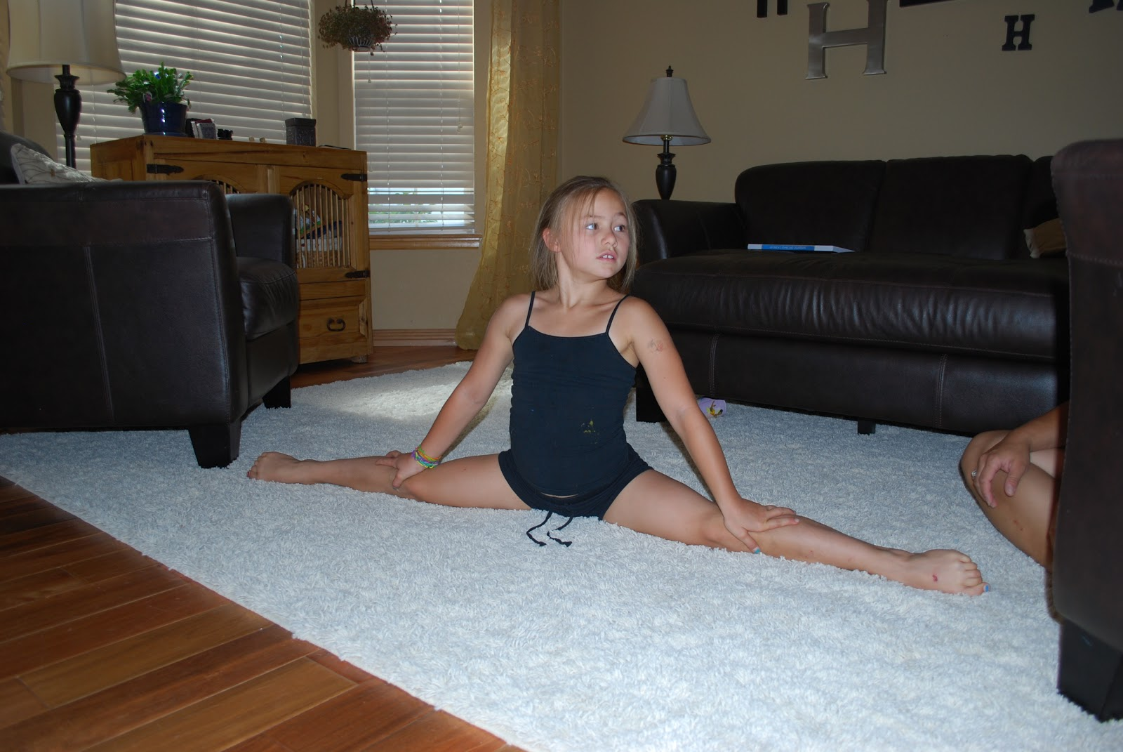 In the World of 8-year old gymnastics . . .