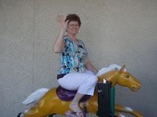 Grandma on a Horsie