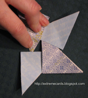 tea bag fold quilt card