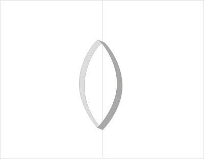 boat or oval pop up card