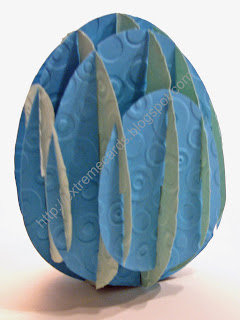 sliceform egg