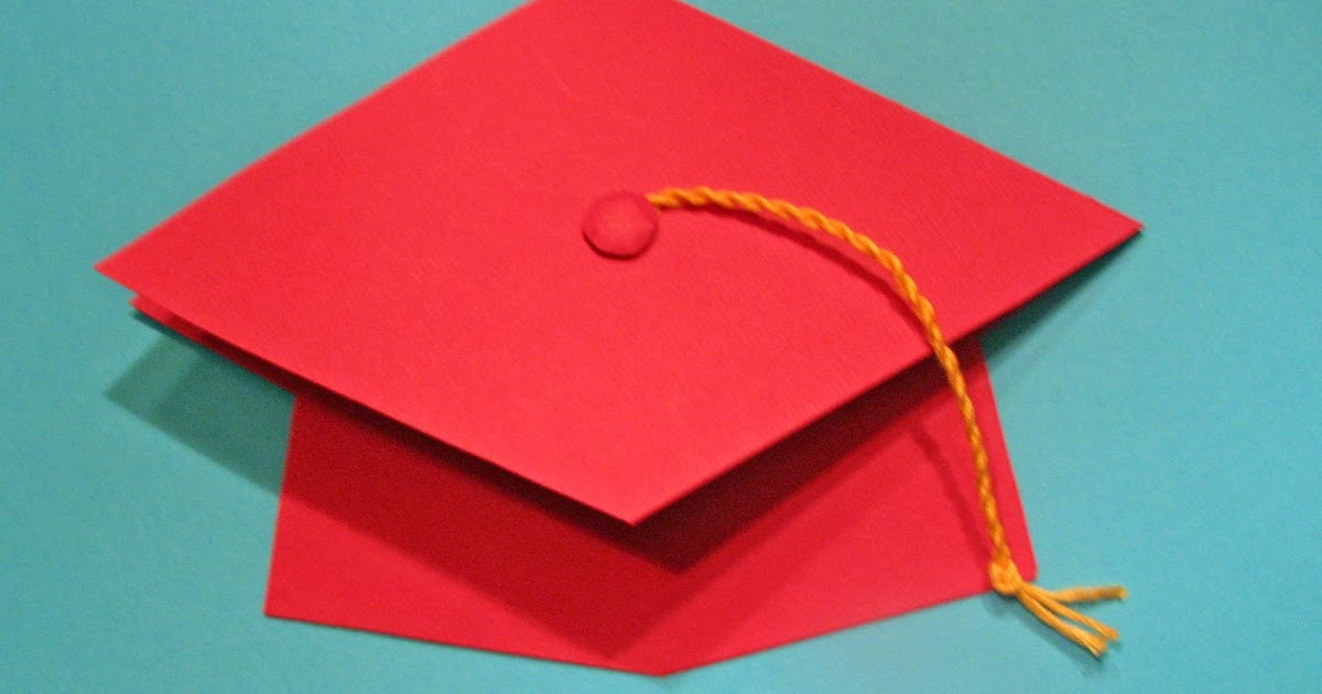 Extreme cards and papercrafting quick graduation pop up for Graduation mortar board template