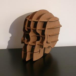 skull sliceform