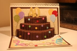 pop up cake