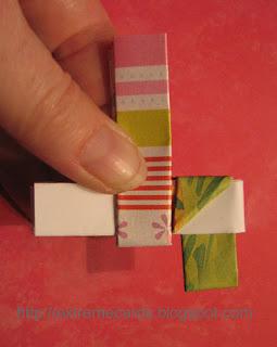 gum wrapper bracelet