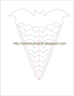 halloween treat holder template